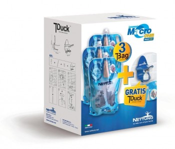 Kit T-DUCK de 3 Jabones Lavamanos de 3 Litros + Dispensador