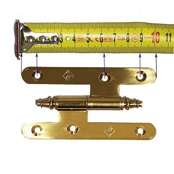 Pernio Latón con Remate Mod. 4025 BrassOcho