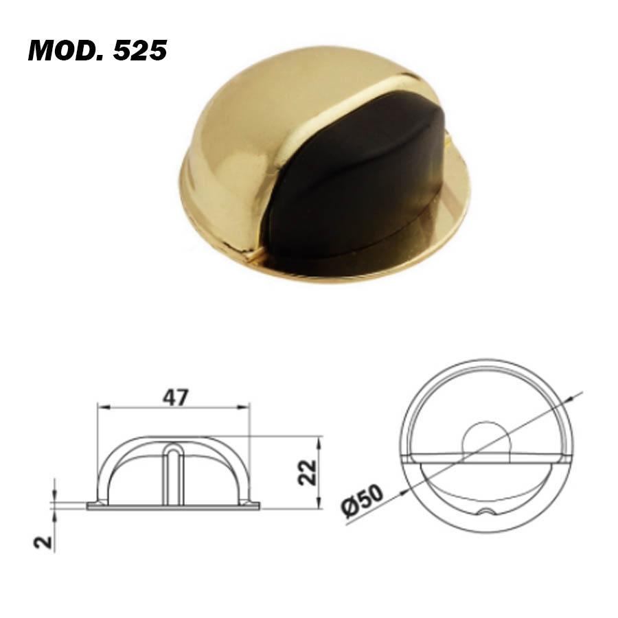 Tope Puerta Adhesivo Mod. 525/526 BrassOcho