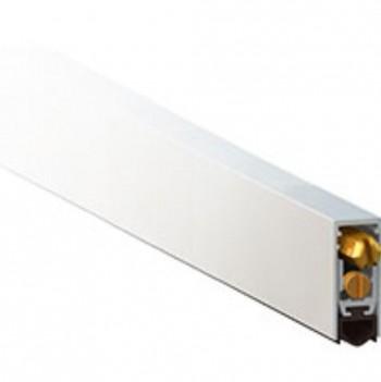 Micel Burlete Embutir Auto Aluminio Blanco 825/925mm