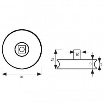 Micel Rodamiento Mampara Articulada RD3 26mm