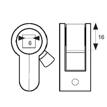 Micel Adaptador Unificado Cerradura Blister