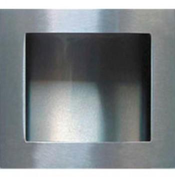 Micel Tirador Embutir Cuadrado 70X70 mm INOX