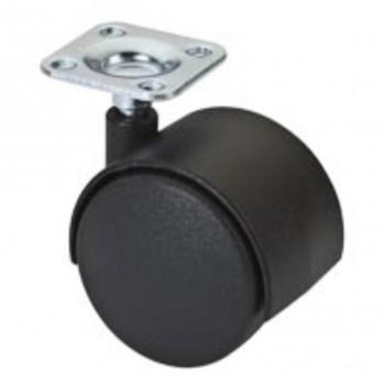 Micel Rueda Placa Mueble S/F RUM3 NE 45mm