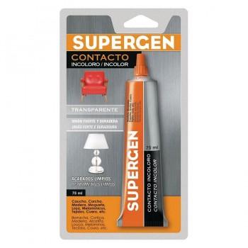Supergen Adhesivo Contacto Incoloro Tubo 75ml. TESA TAPE
