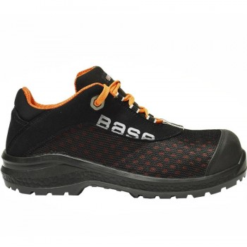 Zapatos de Seguridad Negro S1P-SRC BE-FIT BASE