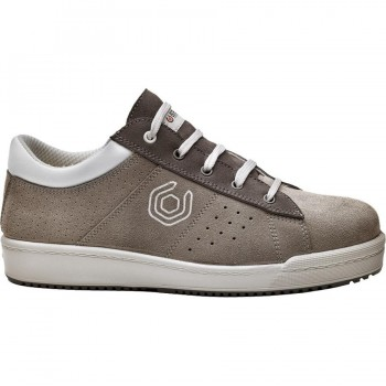 Zapato Seguridad Gris y Blanco PIXEL B0251 BASE