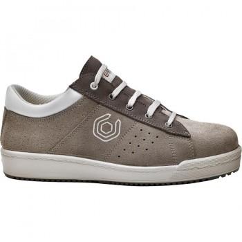 Zapatos de Seguridad Gris y Blanco PIXEL B0251 BASE