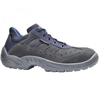 Zapatos de Seguridad Gris COLOSSEUM S1P BASE B163