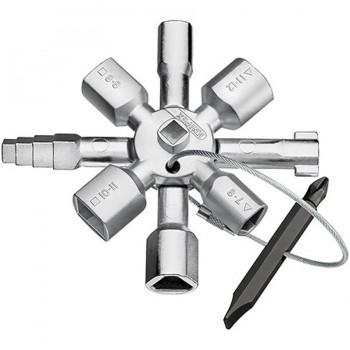 Llave Multifuncional Armarios KNIPEX 00 11 01