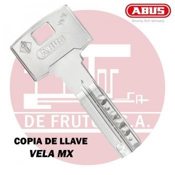 Copia de llave de seguridad para VELA MX ABUS