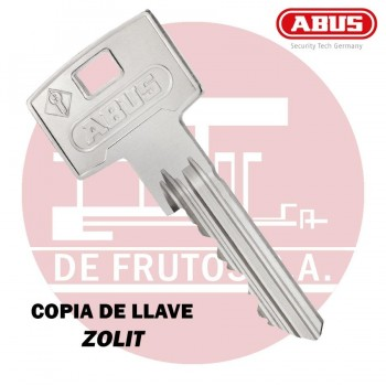 Copia de llave de seguridad para ZOLIT ABUS