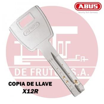 Copia de llave de seguridad para X12R ABUS