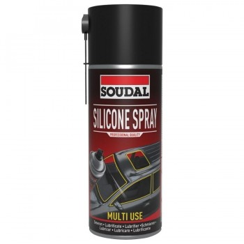 Spray de Silicona 400ml Soudal