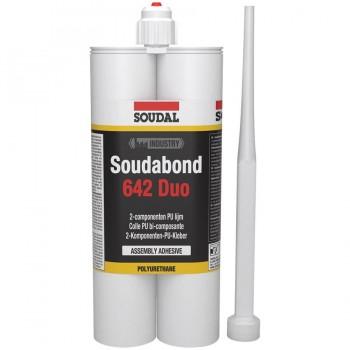 Adhesivo de construcción SOUDABOND 642 DUO a base de PU bicomponente SOUDAL