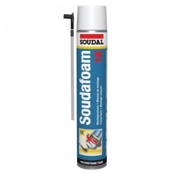Espuma de Poliuretano SoudaFoam 1K Canula 750 ml Soudal