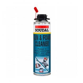 Limpiador Espuma Soudal Gun & Foam Cleaner Bote 500ml