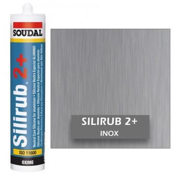 Silicona Neutra INOX Silirub 2+ 300ml SOUDAL