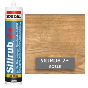 Silicona Neutra de Color ROBLE Silirub 2+ SOUDAL