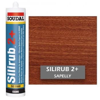 Silicona Neutra de Color SAPELLY Silirub 2+ SOUDAL