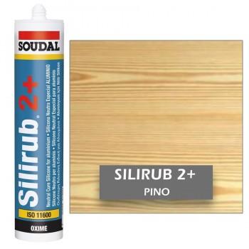 Silicona Neutra PINO Silirub 2+ 300ml SOUDAL