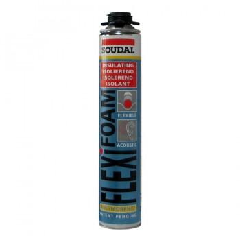 Flexifoam Espuma Azul de Poliuretano 750ml Soudal