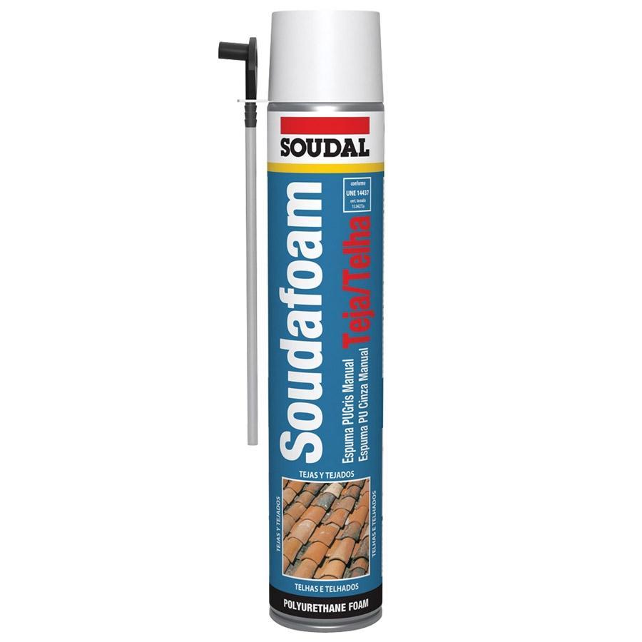 Espuma Canula Tejas Bote 750 ml Soudal