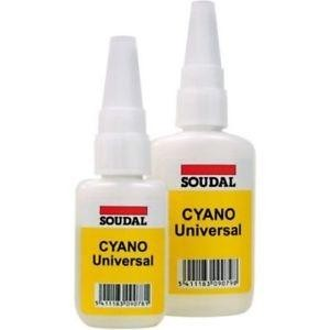 Cianocrilato Liquido 84A Soudal