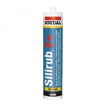 Silicona Neutra Silirub 2+ 300ml Soudal