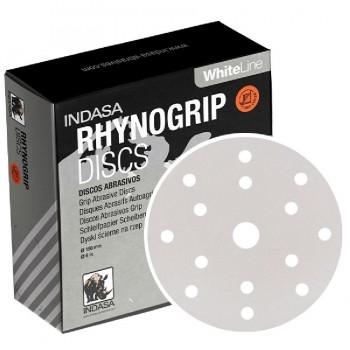 Disco Lija Velcro 150mm.15A INDASA RHYNOGRIP WHITE LINE