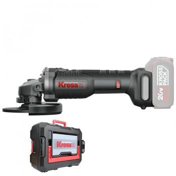 Miniamoladora Batería BL 115mm 20V (Sin Batería) KRESS KUH02.91