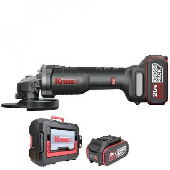 Miniamoladora Batería 115mm BL 20V KRESS KUH02.2