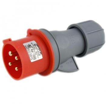 Clavija CETAC 4P(3P+T) 32A 380-440V IP44 FAMATEL