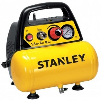 Compresor de Pistón STANLEY DN 200/8/6 1.5Hp 6L Mono