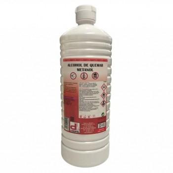 Alcohol Quemar Botella 1 Litro