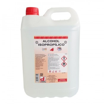 Alcohol Isopropílico Garafa 5 Litros