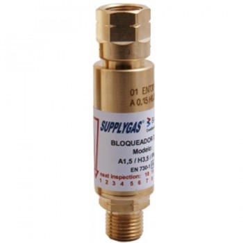 Válvula Antillama Regulador (NV + FBA) Oxígeno 9/16\c 288-R