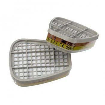 Filtro Máscara Gases y Vapores 6075 3M (2 unidades)