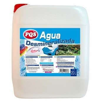 Agua Desmineralizada Garrafa 20 Litros PQS