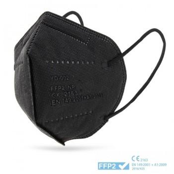 Mascarilla de Protección Certificada FFP2 CE Negra