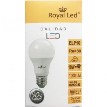 Bombilla LED Standard 10W E27 4200K ROYAL LED