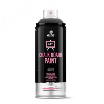 Spray de Pintura Efecto Pizarra Negra MTN Pro 400ml