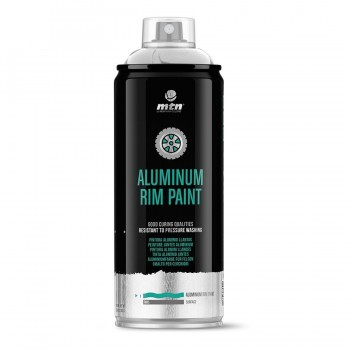 Spray de Pintura Aluminio Llantas MTN Pro 400ML