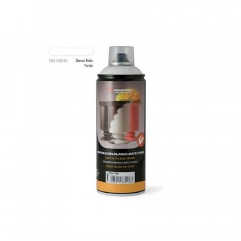 Spray Imprimación de Fondo Blanco Mate 400ml. MTN