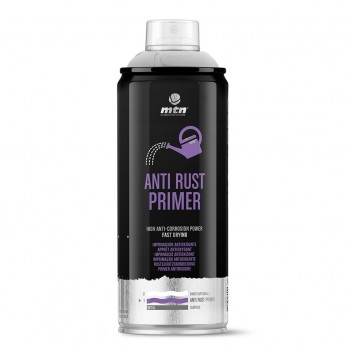 Spray Imprimación Antioxidante Gris ANTI RUST MTN