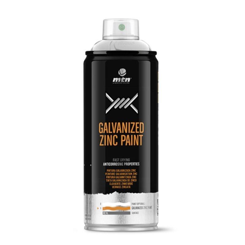 Spray Galvanizado Zinc Claro MTN