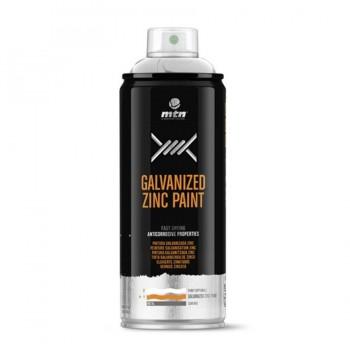 Spray Galvanizado Zinc Brillante-Plata Galvanizada MTN