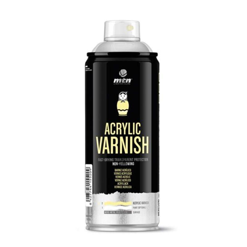 Spray Barniz Acrílico Satinado MTN