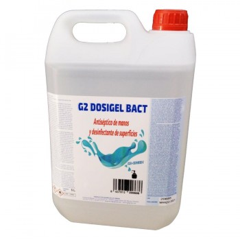 Gel Hidroalcólico Desinfectante 5 Litros