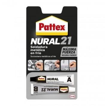 Soldadura en Frio Metal PATTEX NURAL-21 22ml